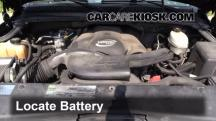 2003 Cadillac Escalade 6.0L V8 Battery