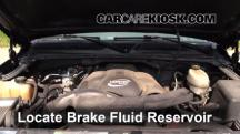 2003 GMC Sierra 1500 WT 4.8L V8 Brake Fluid
