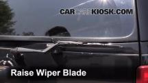 2003 Cadillac Escalade 6.0L V8 Windshield Wiper Blade (Rear)