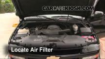 2003 Chevrolet Suburban 1500 LT 5.3L V8 Air Filter (Engine)
