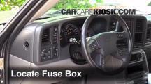 2003 Chevrolet Tahoe LS 5.3L V8 Fusible (interior)