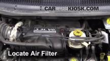 2003 Dodge Caravan SE 3.3L V6 FlexFuel Air Filter (Engine)