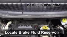 2003 Dodge Caravan SE 3.3L V6 FlexFuel Brake Fluid