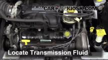 2003 Dodge Caravan SE 3.3L V6 FlexFuel Transmission Fluid