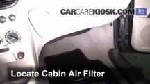 2003 Fiat Punto EX 1.3L 4 Cyl. Turbo Diesel Air Filter (Cabin)