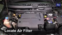 2003 Fiat Punto EX 1.3L 4 Cyl. Turbo Diesel Air Filter (Engine)
