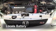 2003 Honda Civic Si 2.0L 4 Cyl. Battery