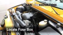 2003 Hummer H2 6.0L V8 Fuse (Engine)