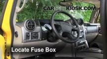 2003 Hummer H2 6.0L V8 Fuse (Interior)