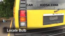 2003 Hummer H2 6.0L V8 Lights