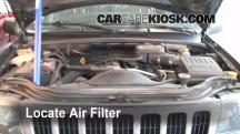 2003 Jeep Grand Cherokee Laredo 4.0L 6 Cyl. Air Filter (Engine)
