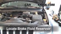2003 Jeep Grand Cherokee Laredo 4.0L 6 Cyl. Brake Fluid