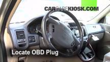 2003 Kia Sedona EX 3.5L V6 Compruebe la luz del motor