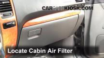 2003 Lexus GX470 4.7L V8 Air Filter (Cabin)