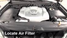 2003 Lexus GX470 4.7L V8 Air Filter (Engine)