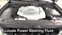 2003 Lexus GX470 4.7L V8 Power Steering Fluid