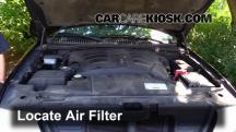 2003 Lincoln Aviator 4.6L V8 Filtro de aire (motor)