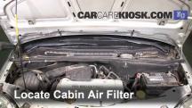2003 Opel Meriva SE Cosmo 1.6L 4 Cyl. Filtro de aire (interior)
