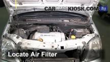 2003 Opel Meriva SE Cosmo 1.6L 4 Cyl. Air Filter (Engine)
