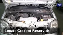 2003 Opel Meriva SE Cosmo 1.6L 4 Cyl. Pérdidas de líquido