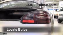2003 Pontiac Grand Prix GT 3.8L V6 Sedan (4 Door) Luces
