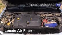 2003 Renault Megane Authentique 1.5L 4 Cyl. Turbo Diesel Air Filter (Engine)