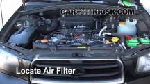 2003 Subaru Forester XS 2.5L 4 Cyl. Air Filter (Engine)