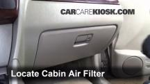 2003 Suzuki XL-7 Touring 2.7L V6 Air Filter (Cabin)