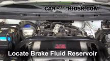 2003 Suzuki XL-7 Touring 2.7L V6 Brake Fluid
