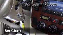 2003 Suzuki XL-7 Touring 2.7L V6 Clock
