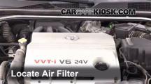 2003 Toyota Camry XLE 3.0L V6 Filtro de aire (motor)