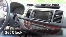 2003 Toyota Camry XLE 3.0L V6 Reloj