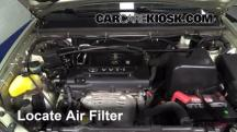 2003 Toyota Highlander 2.4L 4 Cyl. Air Filter (Engine)