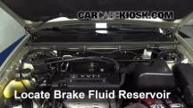 2003 Toyota Highlander 2.4L 4 Cyl. Brake Fluid