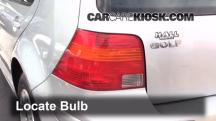 2003 Volkswagen Golf GL 2.0L 4 Cyl. (4 Door) Luces