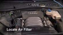 2004 Audi A6 3.0L V6 Air Filter (Engine)