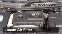 2004 Audi TT Quattro 1.8L 4 Cyl. Turbo Convertible Air Filter (Engine)