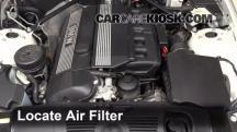 2004 BMW Z4 2.5i 2.5L 6 Cyl. Filtro de aire (motor)