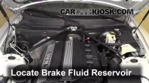 2004 BMW Z4 2.5i 2.5L 6 Cyl. Brake Fluid