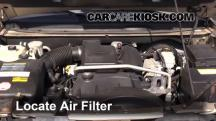 2004 Buick Rainier CXL Plus 4.2L 6 Cyl. Air Filter (Engine)
