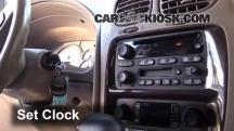 2004 Buick Rainier CXL Plus 4.2L 6 Cyl. Clock