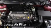 2004 Chevrolet Classic 2.2L 4 Cyl. Filtro de aire (motor)