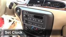 2004 Chevrolet Classic 2.2L 4 Cyl. Clock