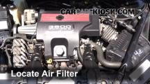 2004 Chevrolet Impala SS 3.8L V6 Supercharged Filtro de aire (motor)