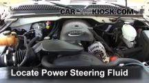 2004 Chevrolet Silverado 1500 LS 5.3L V8 FlexFuel Extended Cab Pickup (4 Door) Power Steering Fluid