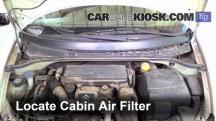 2004 Citroen C3 SX 1.4L 4 Cyl. Turbo Diesel Air Filter (Cabin)