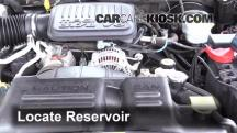 2004 Dodge Dakota Sport 3.7L V6 Crew Cab Pickup (4 Door) Líquido limpiaparabrisas
