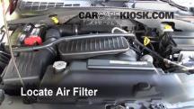 2004 Dodge Durango SLT 5.7L V8 Filtro de aire (motor)
