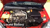 2004 Ford Focus ZTS 2.3L 4 Cyl. Battery