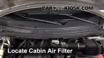 2004 Ford Freestar SEL 4.2L V6 Filtro de aire (interior)